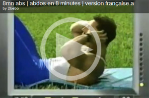 video des 8 mn d'abdo